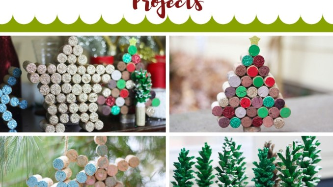 Diy Wine Cork Christmas Projects!