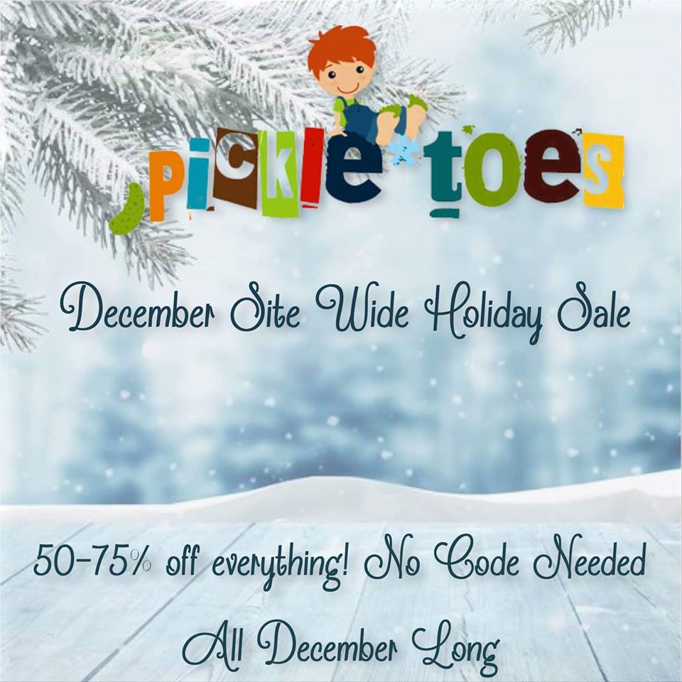 Pickle Toes Patterns December Sewing Pattern Holiday Sale