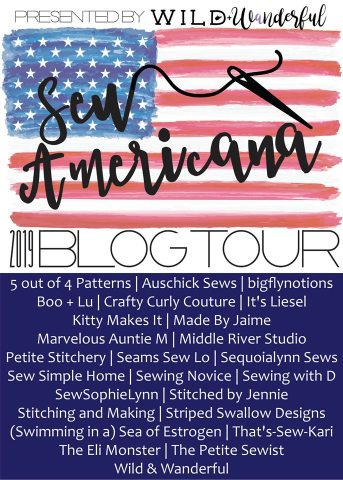 Sew Americana Blog Tour 2019 hosted by Wild and Wanderful