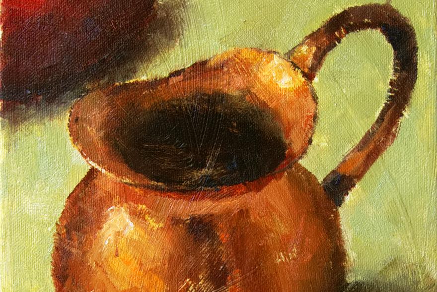 Red Drop II Featured Painting Seamus Berkeley
