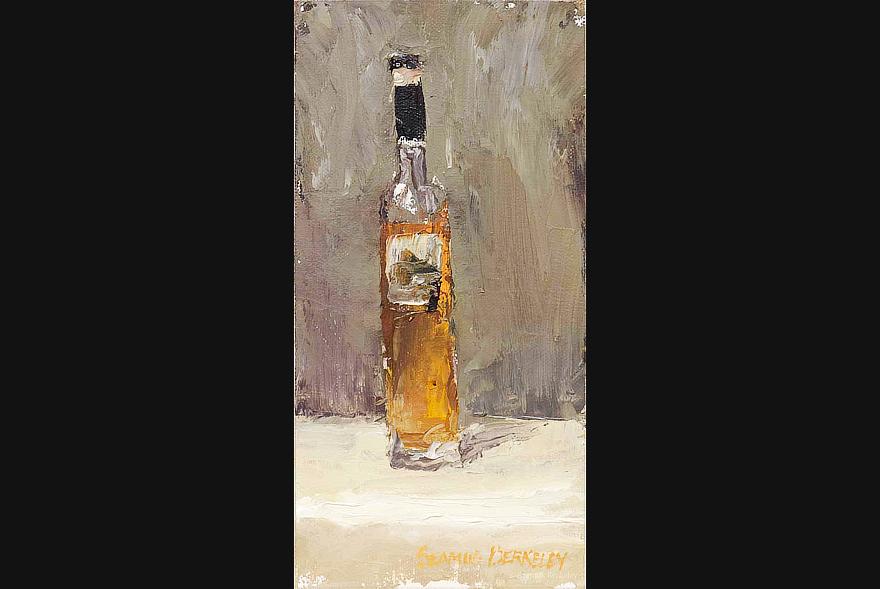 Bottle of Orange Painting Seamus Berkeley