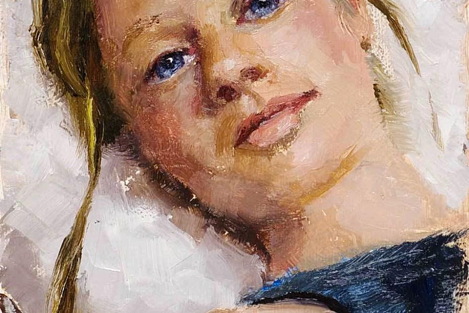 Ashley Portrait Painting Seamus Berkeley