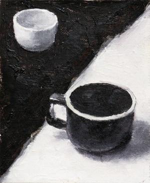 Cups Painting Seamus Berkeley