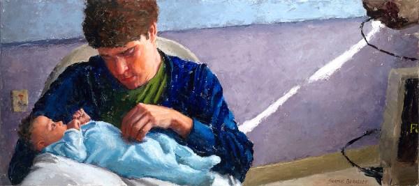 Derrek and Josephine Final Portrait Painting Seamus Berkeley