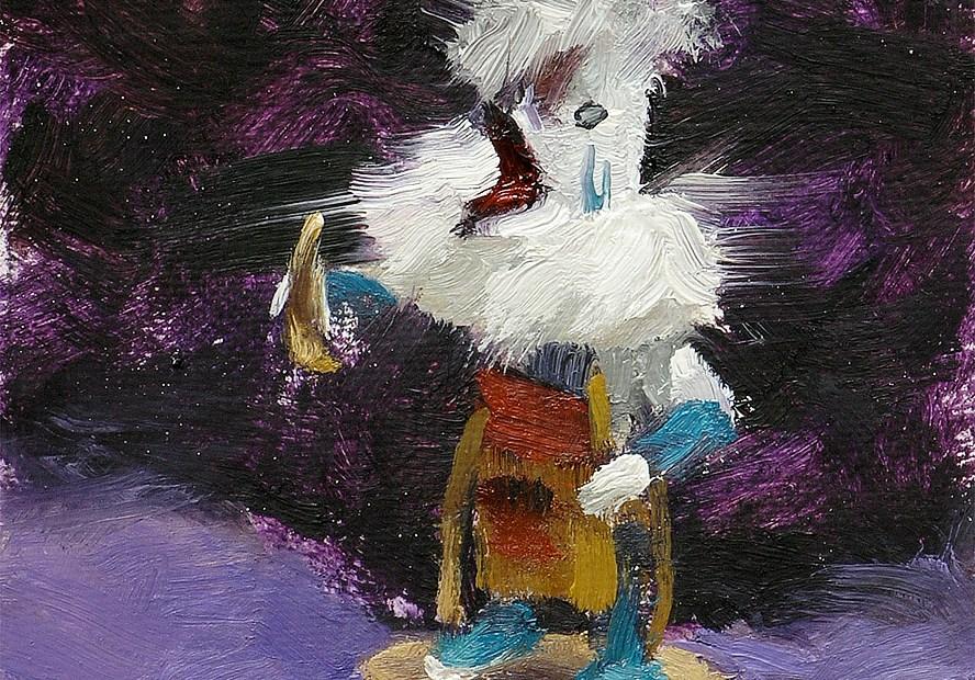 Kachina Painting Seamus Berkeley