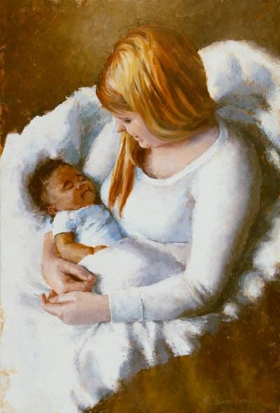 Kelly and Devon Portrait Painting Seamus Berkeley