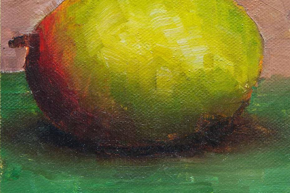 Mango Dusk Painting Seamus Berkeley