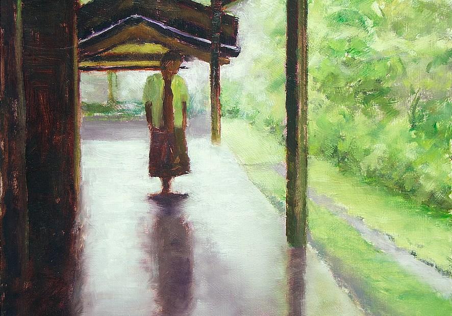 Meditation Painting Seamus Berkeley
