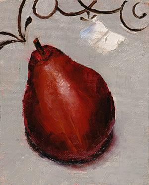 Pear Twist Painting Seamus Berkeley