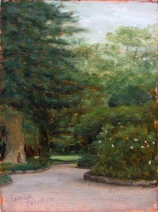 Shiroyama Koen Park Sano Japan Painting Seamus Berkeley