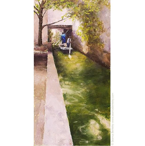 Suzhou Canal Print Seamus Berkeley