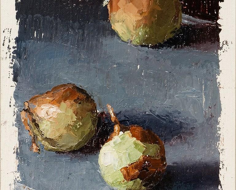 Three Onions Painting Seamus Berkeley