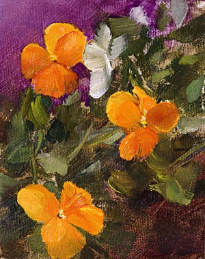 Violas Painting Seamus Berkeley