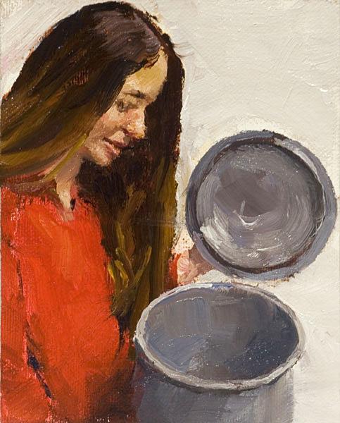 Willow Portrait Painting Seamus Berkeley