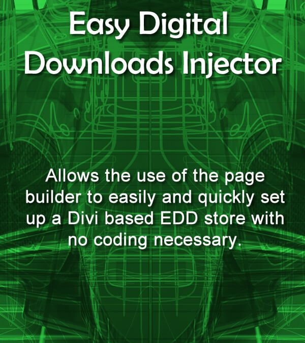 A new plugin – Easy Digital Downloads Injector