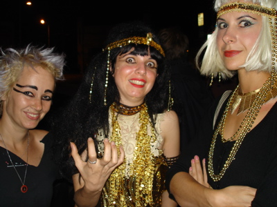 "New photos: Nora Keyes & ""Root 'n' Tutankhamun"" party at Il Corral!"