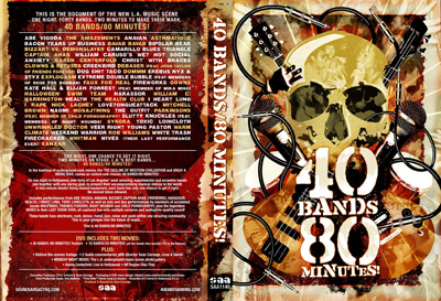 Tickets now available for the premiere of 40 BANDS 80 MINUTES! RSVP *now* if you would like to attend!!!