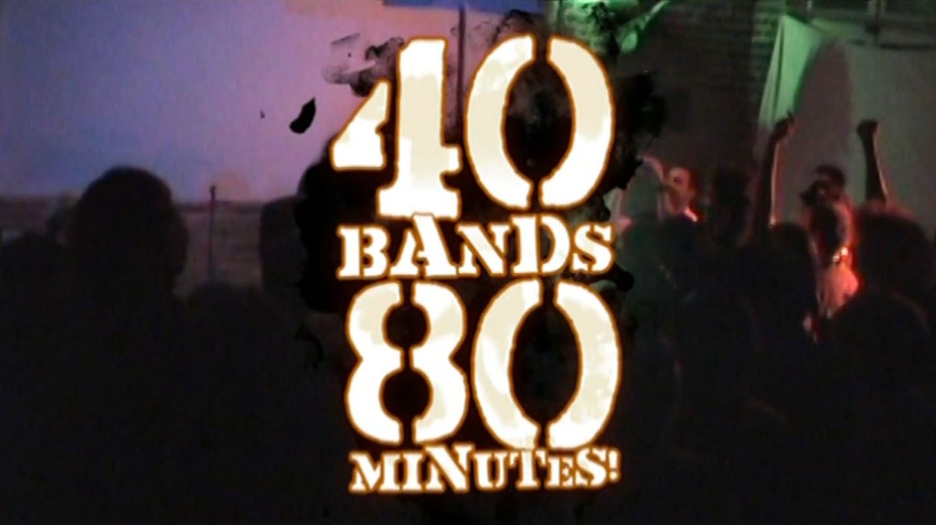IF YOU ARE IN BROOKLYN, NY OR CLEVELAND, OHIO, DON'T MISS THESE PREMIERES OF 40 BANDS 80 MINUTES!