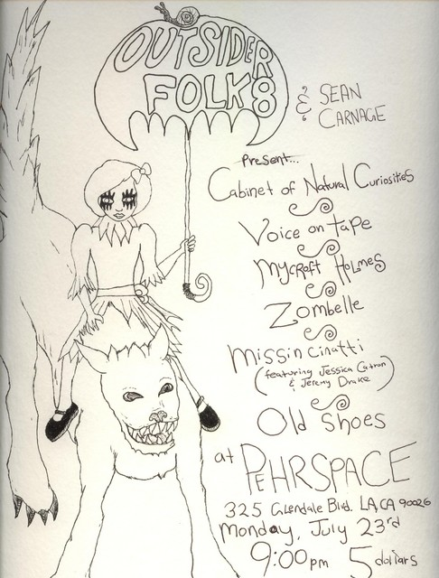 SEAN CARNAGE PRESENTS OUTSIDER FOLK 8 **TONIGHT**!!!