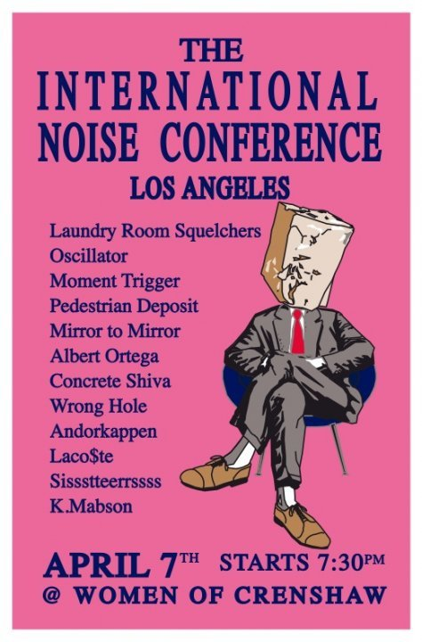 International Noise Conference in L.A. tonight
