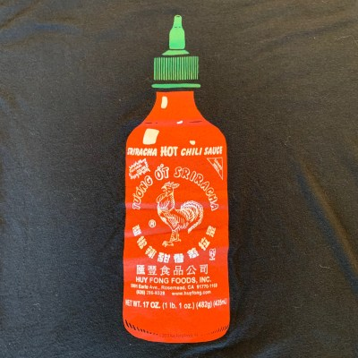 "Sriracha ""HOT CHILI SAUCE"" T-shirt"