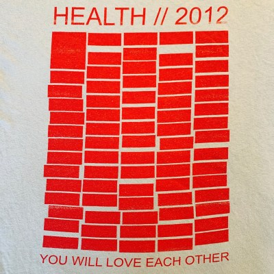 "Health ""2012 Official"" T-shirt"