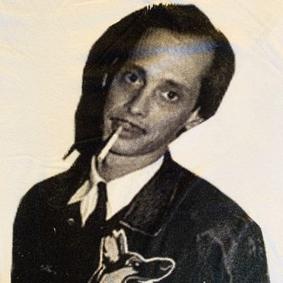John Waters Smoking T-shirt