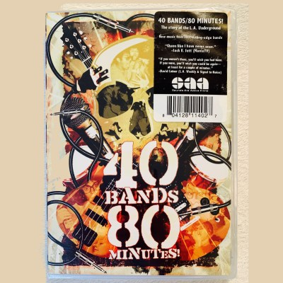 40 Bands 80 Minutes! DVD