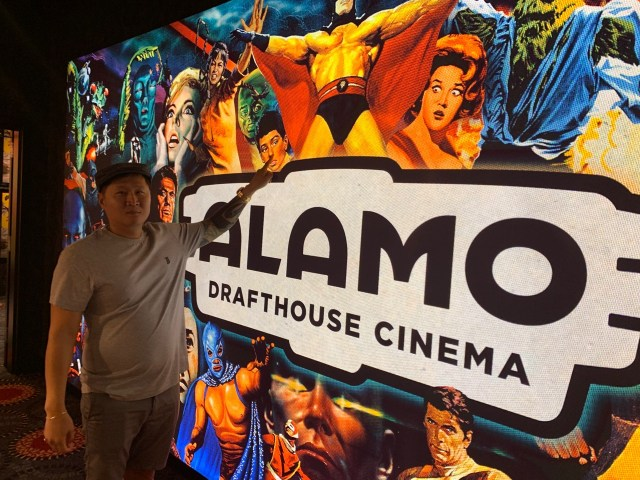 Alamo Drafthouse LA is fun