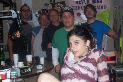 JOANNA ANGEL TATTOOED ON INDIE 103.1 FM!