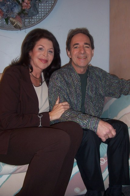 Jackie Enx and Harry Shearer