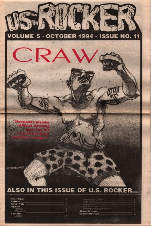 US Rocker cover Craw