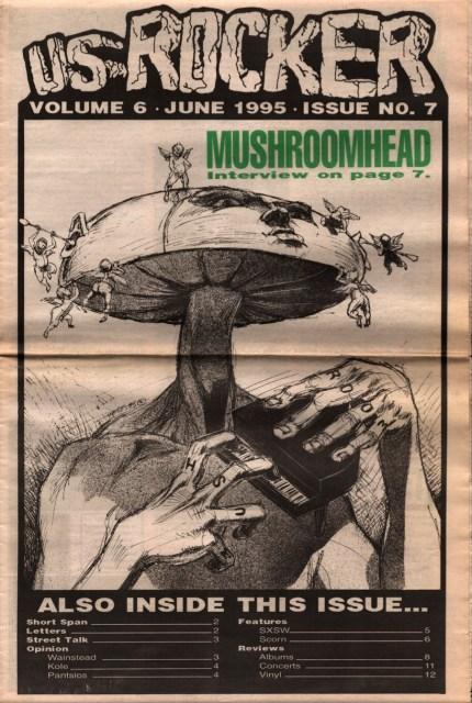 U.S. Rocker Mushroomhead Derek Hess 1995
