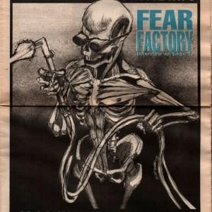 US Rocker cover Fear Factory