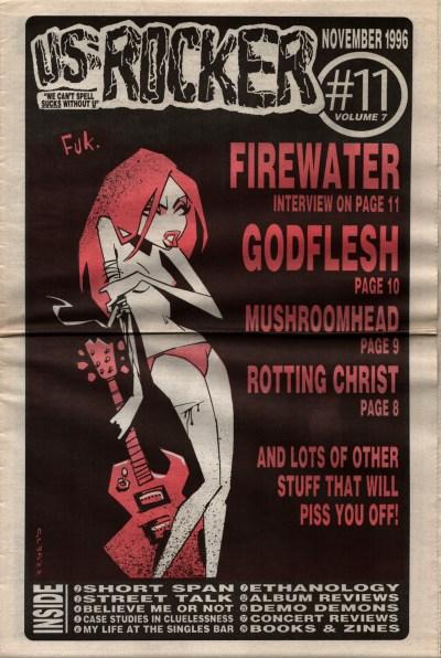 U.S. Rocker, November 1996