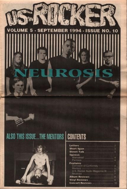 U.S. Rocker Neurosis
