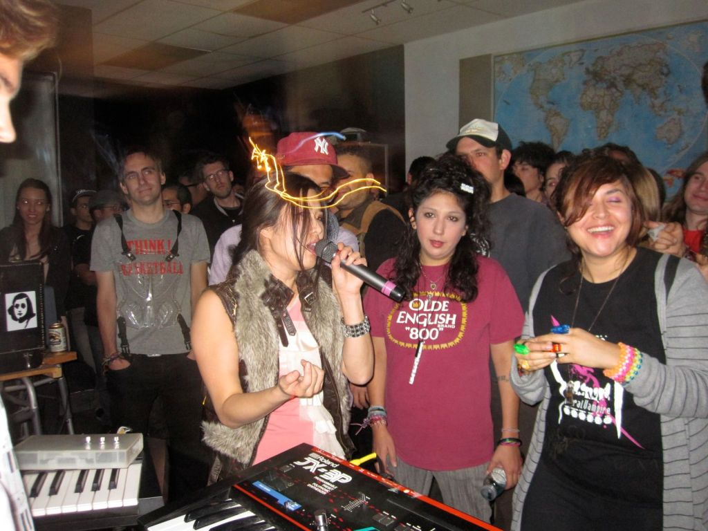 Laco$te party pix: Captain Ahab, Oscillator, I.E., DJ Sara Tea, more