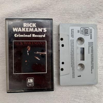 "Rick Wakeman's ""CRIMINAL RECORD"" cassette"