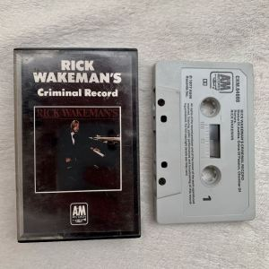 Rick Wakeman's Criminal Record cassette