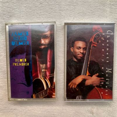 James Blood Ulmer / Charnett Moffett cassette double pack