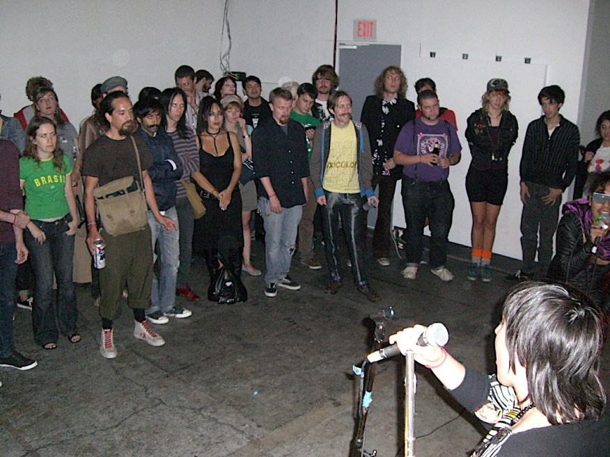 Sister Mantos, September 2009.
