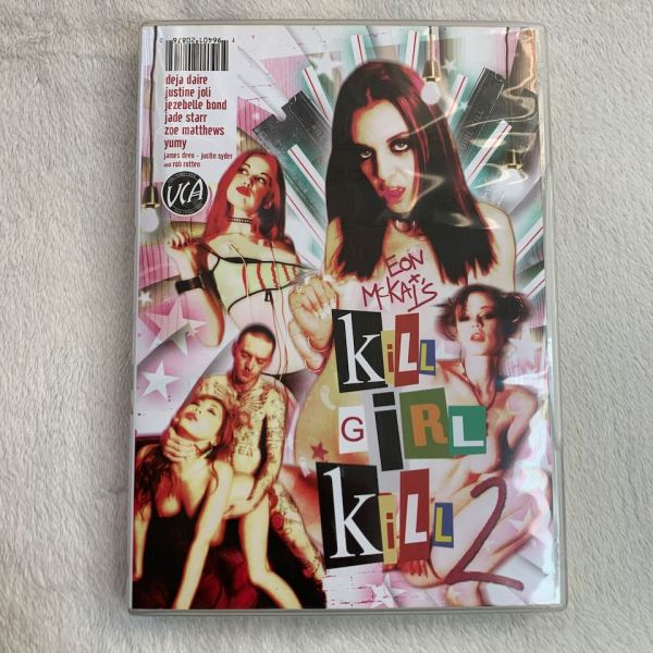 Eon Mckai Kill Girl Kill 2 DVD