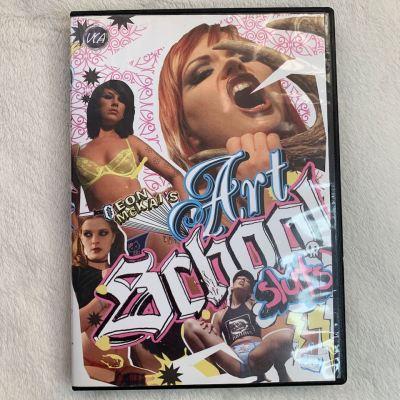 """Eon Mckai's ART SCHOOL SLUTS"" Alt porn classic (DVD)"