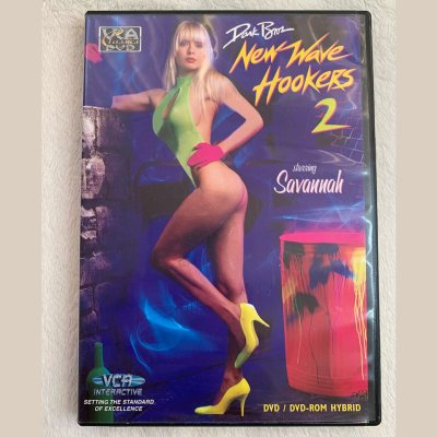 """NEW WAVE HOOKERS 2"" Classic movie (DVD)"