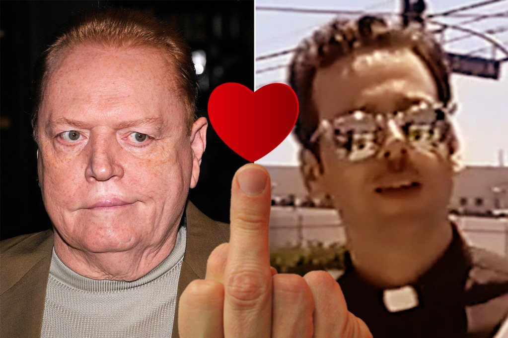 Look at the crazy revenge I've taken on my late mentor Larry Flynt