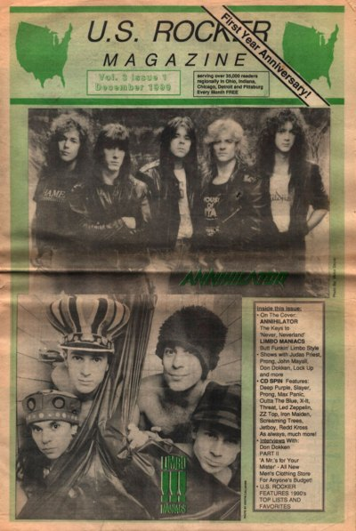 U.S. Rocker, December 1990