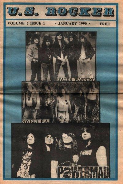 U.S. Rocker, January 1990