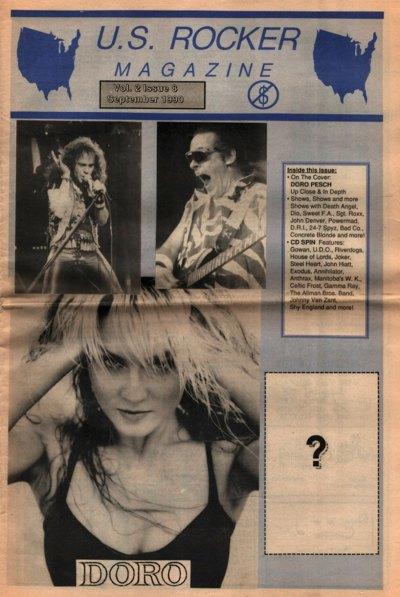 U.S. Rocker, September 1990