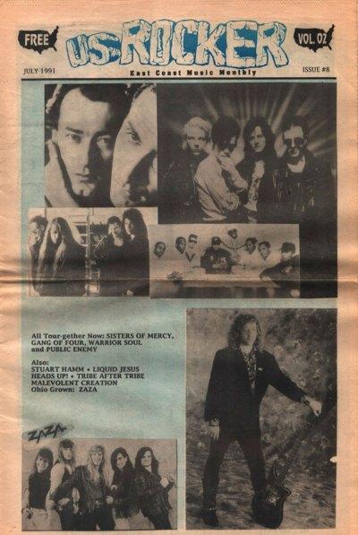 U.S. Rocker, July 1991