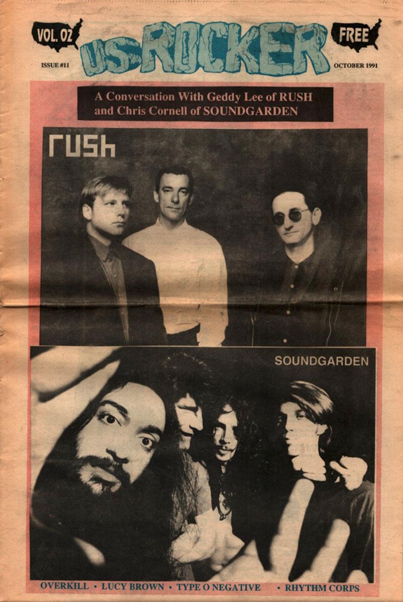 U.S. Rocker, October 1991